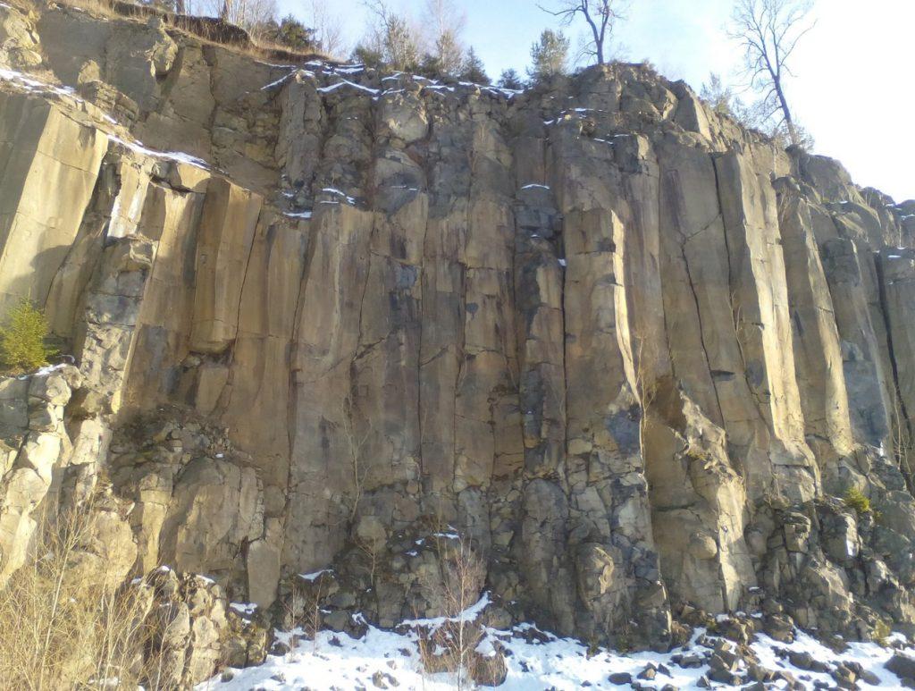 Basaltsäulen Teichelberg