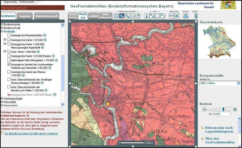 Burgfelsen Neuhaus, Windischeschenbach, Position im Geofachdatenatlas Bayern; https://www.durreck.de/wp/burgfelsen-neuhaus