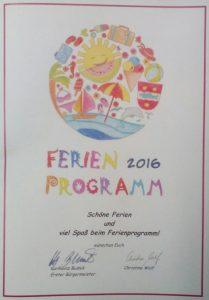 Cover Ferienprogramm Windischeschenbach; https://www.durreck.de/wp/burgfelsen-neuhaus