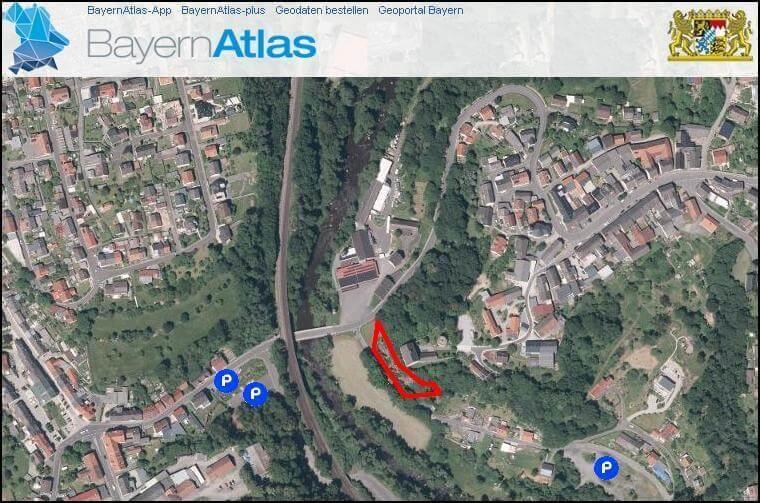 Burgfelsen Neuhaus, Windischeschenbach, Position im Bayernatlas; https://www.durreck.de/wp/burgfelsen-neuhaus